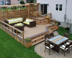 Patios And Decks For Small Backyards by Brilliant Backyard Wood Patio Ideas 17 Best Ideas About Wood Patio
