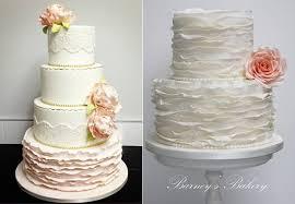 wedding cake tutorial fondant frills ruffle wedding cakes cake magazine