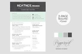 resume template cover letter word resume templates creative