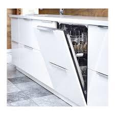 white gloss kitchen doors integrated handle ringhult door high gloss white 24x60 ikea kitchen