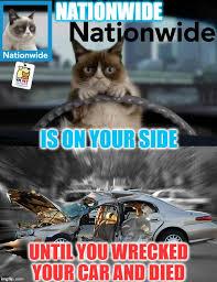 Pet Insurance Meme - hi it s grumpy cat your car life home insurance agent imgflip