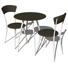 cafe table and chairs adesso cafe table and chairs 3d model formfonts 3d models textures