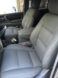 toyota leather seats land cruiser heaven 100 series leather seat covers land cruiser
