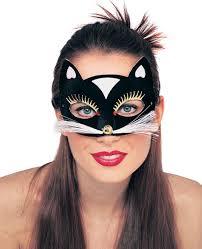 velvet cat eye costume mask costume craze