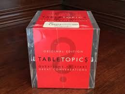 Table Topics Game by Toys U0026 Kids Collectibles Dolls U0026 Games Online Consignment