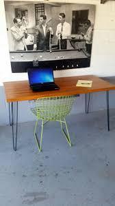 butcher block desk legs view in gallery diy hairpin leg desk