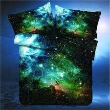 Galaxy Bed Set 2018 New 3d Galaxy Bedding Set Universe Outer Space Themed