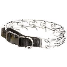 titan titan easy on prong collar pinch chain collars