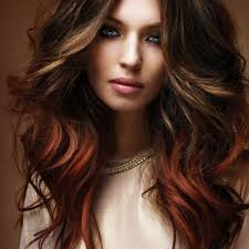 brown red two tone hair color hair x