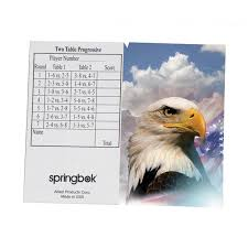 two table progressive tally bridge tally sheet america the beautiful puzzlewarehouse com