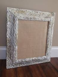 framed fabric covered magnetic bulletin board by homelandchic