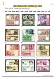 165 free esl money worksheets