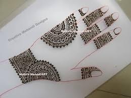diy howto draw simple arabic henna mehndi design class for