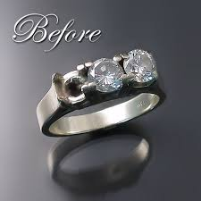 wedding rings redesigned engagement ring redesign and wedding band restoration zoran