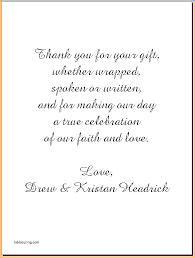 wedding gift thank you notes thank you cards sle thank you cards for wedding gifts fresh