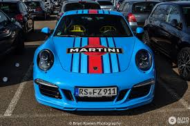 porsche racing colors porsche 991 carrera s martini racing edition 13 may 2015