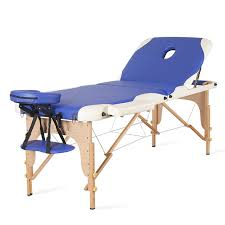 Home Use Foldable Portable Body Spa Massage Table Bed Adjustable