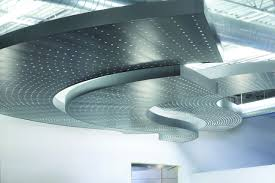 libretto gridless metal ceiling system
