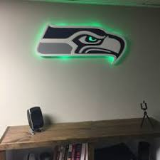seahawks light up sign seahawks with sonic s colors oh boy pinterest colors world