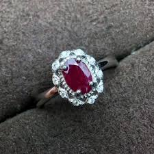 ruby stone rings images Natural 4 6mm high quality myanmar ruby stone rings s925 sterling jpg