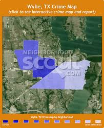 wylie tx map wylie crime rates and statistics neighborhoodscout