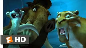 ice age 4 5 movie clip ice slide 2002 hd