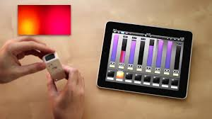 dmx light control software for ipad luminair for ipad osc controlling dmx youtube