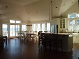 5 reasons to build a custom home the coastal cottage company open floor plan in custom home