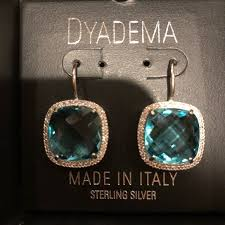 dyadema earrings 67 dyadema accessories sterling silver earrings from