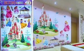 popular princess nursery decor buy cheap princess nursery decor white princess dreaming castle wall decal art vinyl sticker kids girls nursery decor wall stickers
