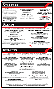 fox neighborhood bar u0026 grill menu with prices 1245 libra dr