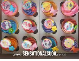 my pony cupcakes edible print my pony cupcakes with butterflies and flowers