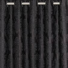 buy damask blockout eyelet curtain online curtain wonderland