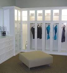 Closet Glass Door Walk In Closet With Custom Dresser Glass Door Inserts To Show
