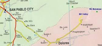 san francisco quezon map bk mountain lodge quezon province philippines direction map
