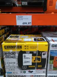 champion 2800w 3100w inverter generator 499 97 at costco stores