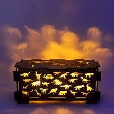 wood light box l trinket storage box by dirtbyearth