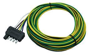 amazon com wesbar 5 way flat trailer connector wishbone harness