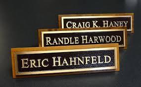 Custom Desk Plates Bronze Name Plates Custom Manufacturer Fort Worth Texas