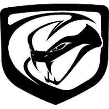 dodge viper logo stickers cars decals dodge viper 2012 logo stickers