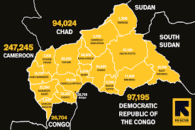 Map Of Central Africa by Central African Republic Too Soon To Turn Away International