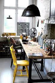 bureau industriel nos idées déco made in meublesle déco de