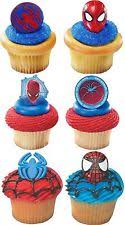 marvel cake toppers birthday child spider party supply cake toppers ebay