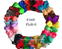 cheap hair bows hairbows etsy