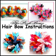 bows and ribbons korker ribbon hair bows tutorial foto