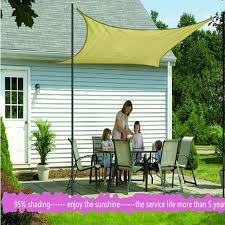 Sunshade Awning Gazebo Aliexpress Com Buy Sun Shade Sail 3 6m 3 6m Awnings Toldo