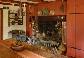 Primitive Dining Room by Dining Through The Ages Holistic House