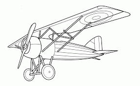 airplane coloring book coloring