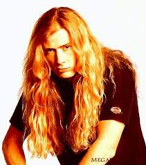 metal hair photo of dave mustaine heavy metal hairstyle haircut