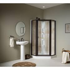 38 Neo Angle Shower Door Sterling Intrigue 27 9 16 In X 72 In Framed Neo Angle Shower